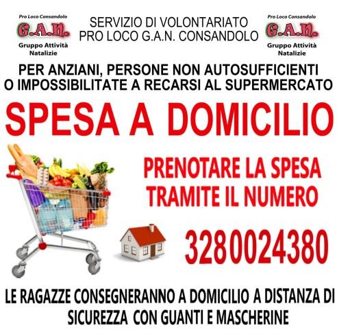 SPESA A DOMICILIO COVID